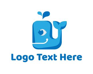 Theme Park - Whale Eye logo design