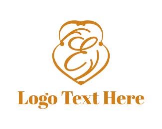 Edinburgh - Elegant Letter E logo design