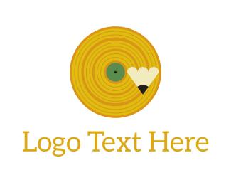 Music Production - Hand Drawn Records logo design