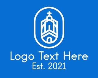 Church - Monastery Church logo design