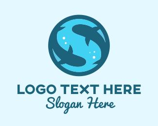 Shark - Shark Letter S logo design