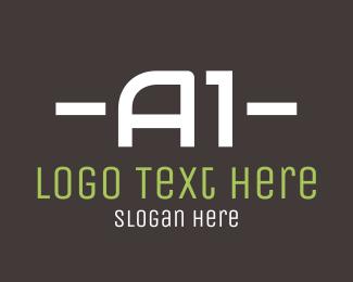 Motel - A1 Text logo design
