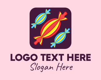Sweets - Sweet Candy Mobile App logo design