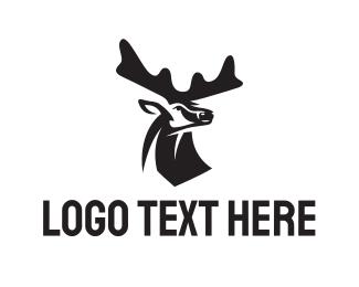 Whiskey - Deer logo design