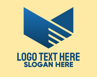 Marketing - Business Marketing Letter V logo design