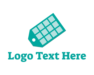Marketplace - App Tag logo design