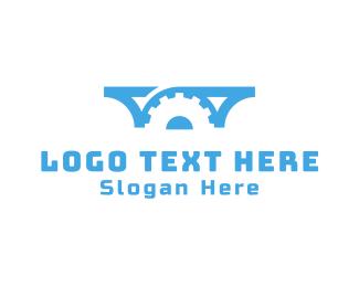Professional Service - Bridge Works logo design