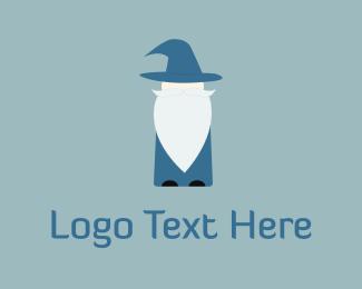 Magic - Old Wizard logo design