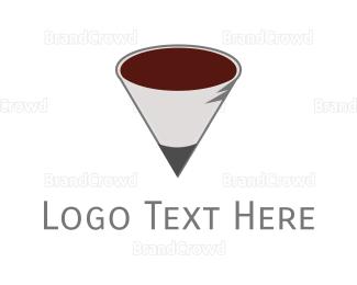 Drink - School Cafeteria logo design