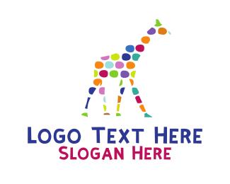 Craft - Artistic Giraffe logo design