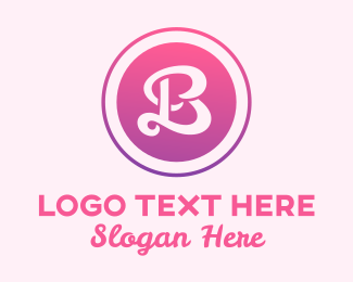Beauty Spa - Beauty Letter B logo design