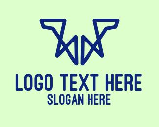 Letter W - Geometric Letter W logo design