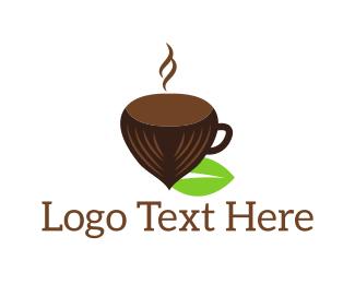 Acorn - Hazelnut Cup logo design