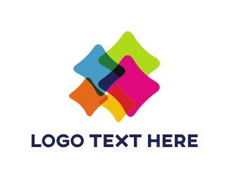 Web Development - Colorful Cushions logo design