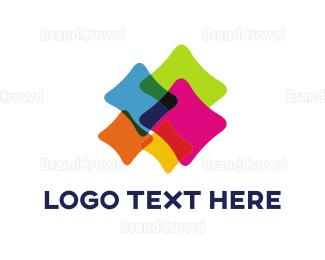 Website - Colorful Cushions logo design