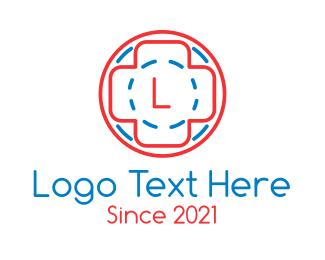 Pharmacology - First Aid Medicine logo design