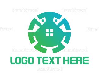 Beetle - Gradient Crab House logo design