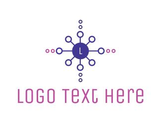 Dot - Decorative Circle Lettermark logo design