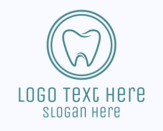 Oral Health - Dental Dentist Tooth logo design