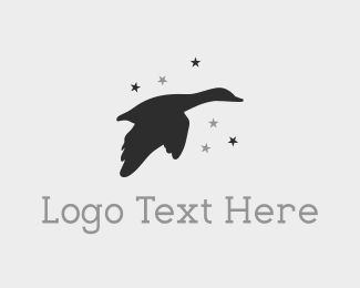 Duck - Star Duck logo design