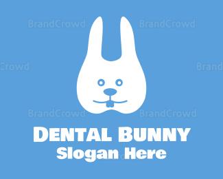 Bounce - Dental Bunny logo design