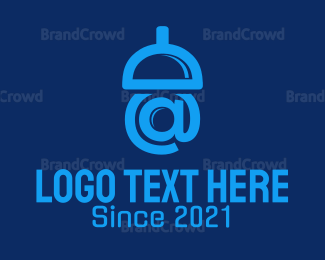 E-mail - Acorn Mail logo design