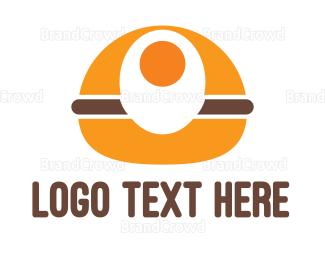 Egg - Egg Burger logo design