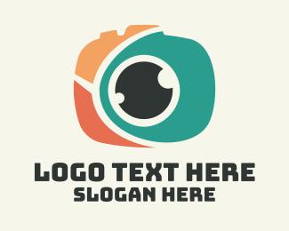 Guide - Fun Camera Eye logo design