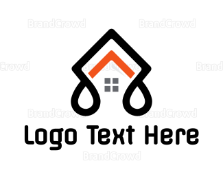 Architect - Black Stroke House logo design