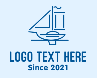 Travel - Sailboat Travel  logo design