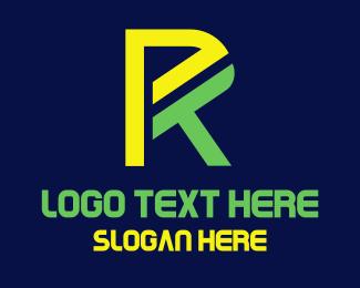 Puerto Rico - Modern R logo design