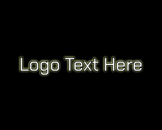Computer Code Text Logo