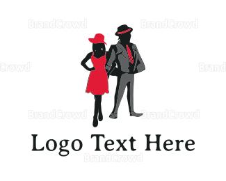 Couple - Elegant Couple logo design