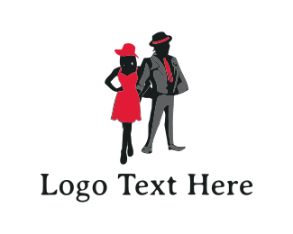 Boutique - Elegant Couple logo design