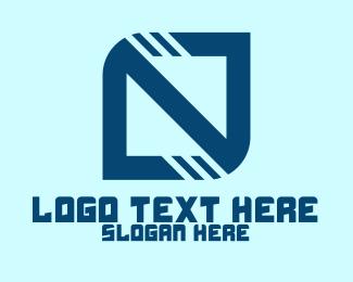 Software Developer - Generic Digital Square logo design
