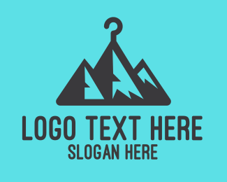 Hanger - Mountain Hanger  logo design