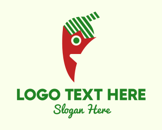 Taco - Pepper Cartoon logo design
