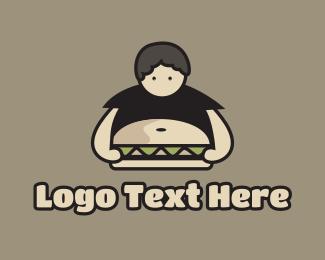 Fat - Boy Belly Burger logo design