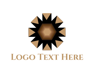 Brown - Brown Star logo design
