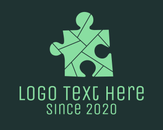 Jigsaw Puzzle Board Game Logo