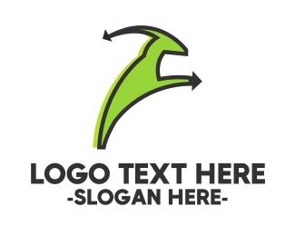 Livestock - Green Goat logo design