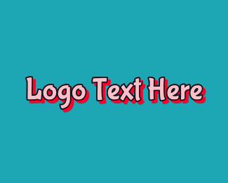 Toddler - Playful Toddler Wordmark logo design
