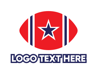 Usa - USA Football logo design