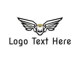 Heavy Metal - Dead King logo design