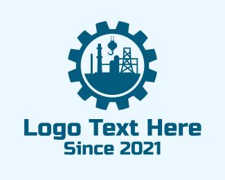 Oil - Industrial Oil Company  logo design