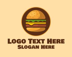 Burger - Burger Hamburger logo design