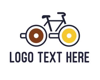 Treat - Lollipop Bicycle logo design