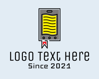 Review - Academic Online Document logo design