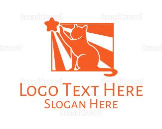 Orange - Orange Cat logo design