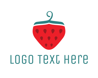 Detail - Strawberry logo design